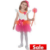 Toddler Girls Fuchsia Eloise Fairy Princess Costume