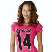 Pink 2014 Graduation T-Shirt