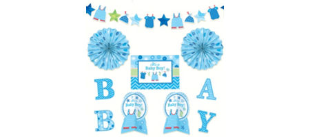 it s a boy baby shower decorations party city