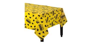 Congrats Grad Yellow Graduation Plastic Table Cover