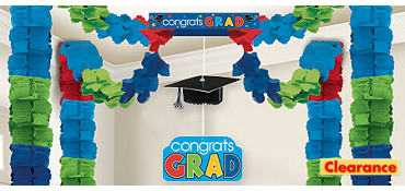 Colorful All-in-One Graduation Decoration 20ft x 20ft