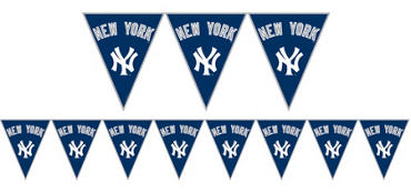 New York Yankees Pennant Banner