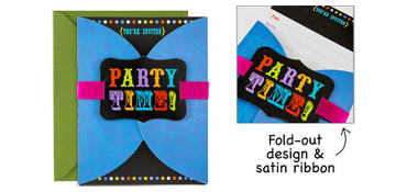 Premium Birthday Cheer Invitations 8ct