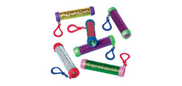 Kaleidoscope Key Chains 24ct