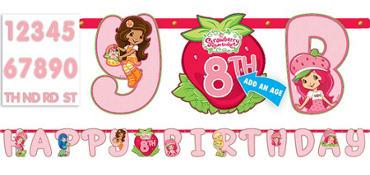 Strawberry Shortcake Letter Banner 10ft