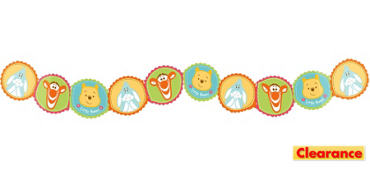 Winnie the Pooh Baby Shower Garland 8ft