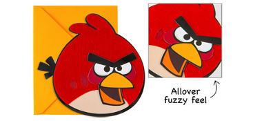 Premium Angry Birds Invitations 8ct
