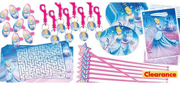 Princess Cinderella Favor Pack 48pc