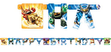 Skylanders Birthday Banner 7ft