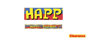 Mike the Knight Birthday Banner 15ft