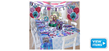 Frozen Party Supplies Super Party Kit