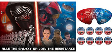 Star Wars 7 The Force Awakens Party Game 10pc