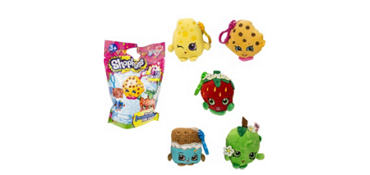 Shopkins Clip-On Keychain Mystery Pack