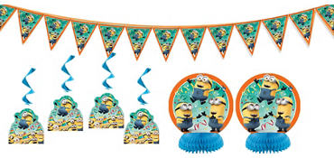 Despicable Me Room Decorating Kit 7pc