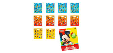 Mickey Mouse Sticker Book 9 Sheets