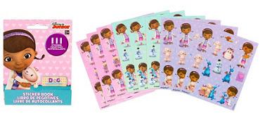 Doc McStuffins Sticker Book 9 Sheets