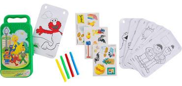 Sesame Street Sticker Activity Box