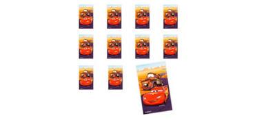Jumbo Cars Stickers 24ct