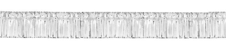 Silver Fringe Garland 20ft