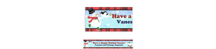 Custom Holiday Fun Banner 6ft