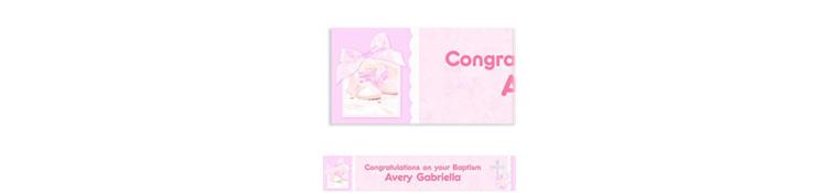 Custom Tiny Blessing Pink Banner 6ft