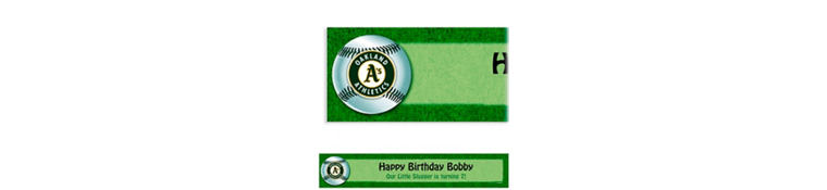 Oakland Athletics Custom Banner 6ft