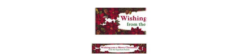 Custom Holiday Enchantment Banner 6ft