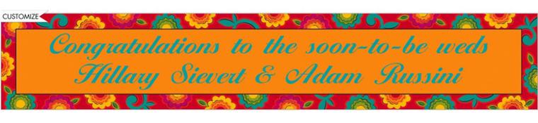 Fiesta Caliente Custom Banner