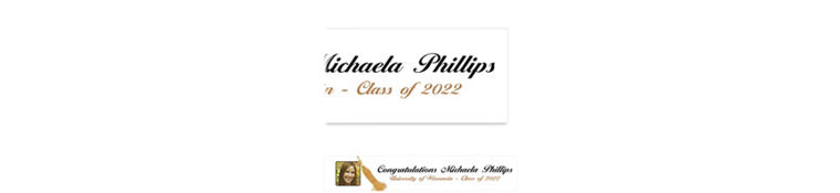 Custom Grad Tassel with Image Photo Banner 6ft