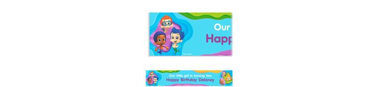 Bubble Guppies Custom Banner