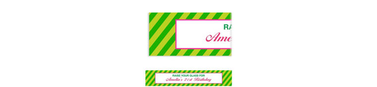 Custom Green Generic Ticket Banner