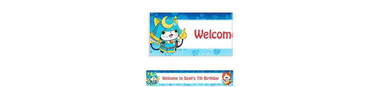 Custom Yo-Kai Watch Banner