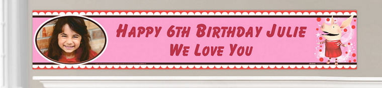 Custom Olivia Birthday Banners