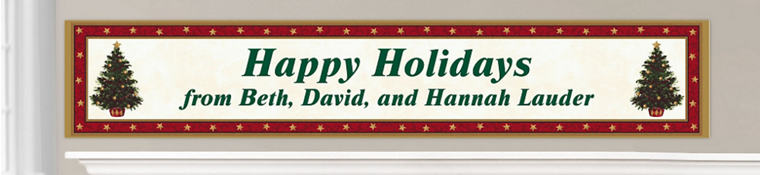 Custom Christmas Banners