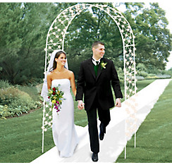 Light-Up Wedding Arch 96in