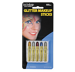 Glitter Makeup Sticks 5ct