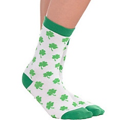 Adult Shamrock Crew Socks