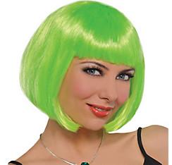 Neon Green Bob Wig