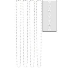 Pearl Bead Necklaces 60in 4ct
