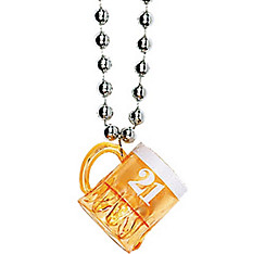 Beer Mug 21st Birthday Shot Glass Necklace