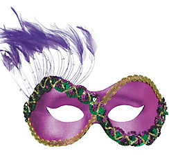 Purple Persuasion Masquerade Mask