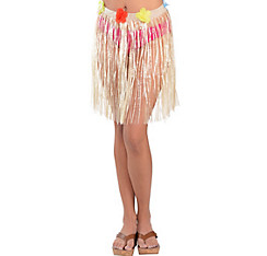 Adult Plastic Mini Hula Skirt