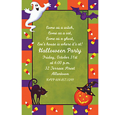 Scary Fun Halloween Custom Invitation