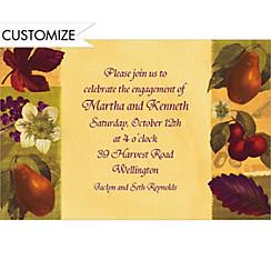 Nature's Scrapbook Custom Invitation