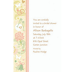 Tying the Knot Custom Bridal Shower Invitation