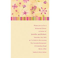 Watercolor Garden Custom Invitation