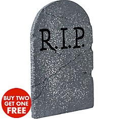 quick shop rip tombstone decoration - Cemetery Halloween Decorations