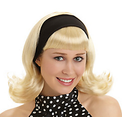 50s Blonde Housewife Wig