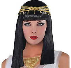 Cleopatra Wig with Headband
