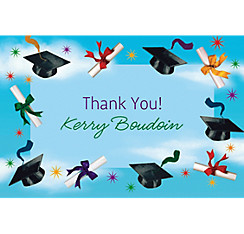 Grad Spirit Custom Thank You Notes